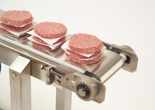 스테인리스 스틸 컨베이어 벨트로 식품 안전 유지